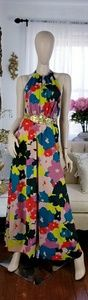 Jessica Simpson floral summer print maxi dress